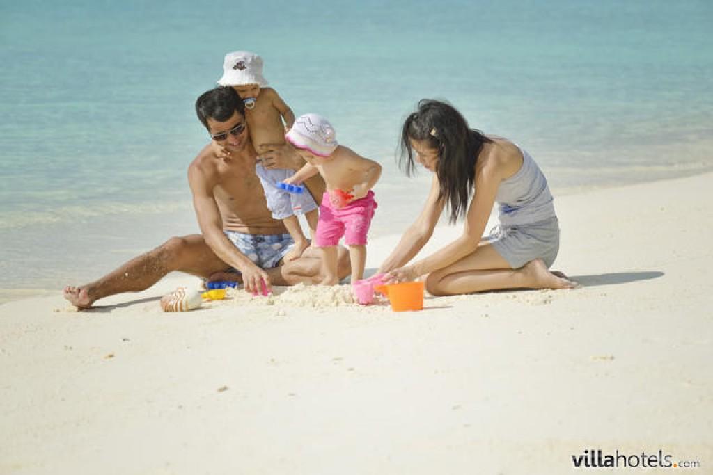 ofertas maldivas con niños