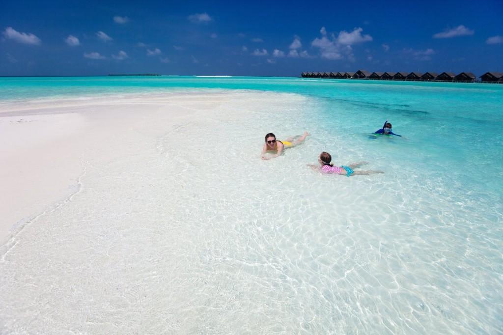 maldivas con niños pequeños