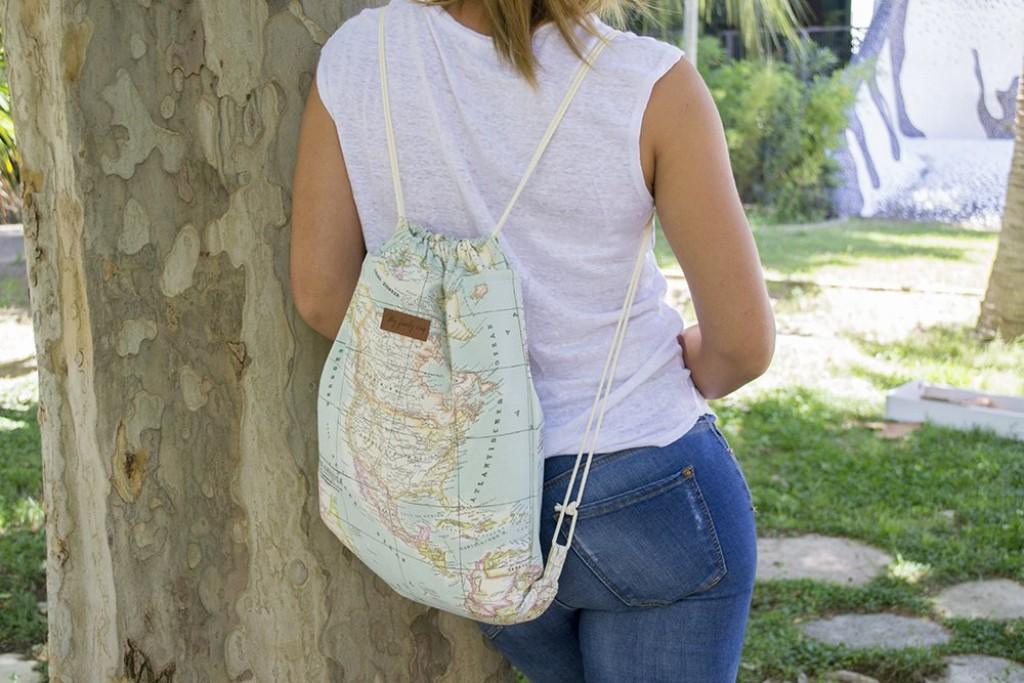 mochila viajera