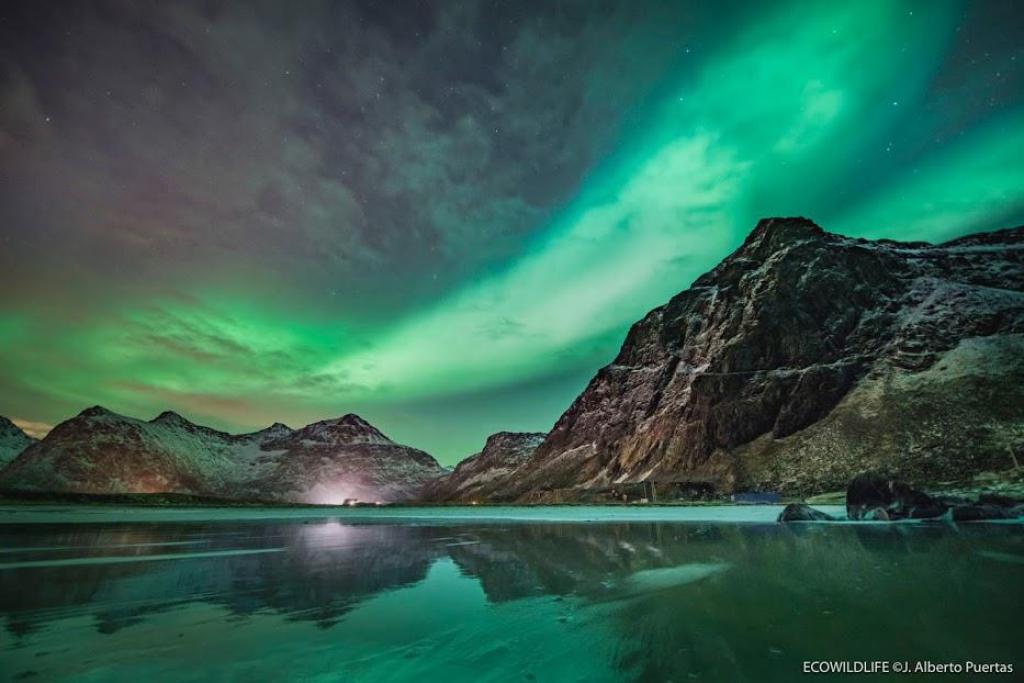 auroras boreales mejor sitio para ver