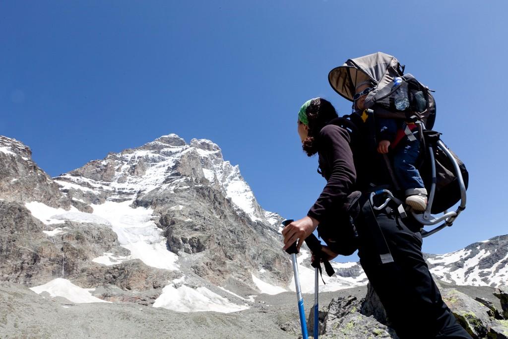 turismo montaña con niños