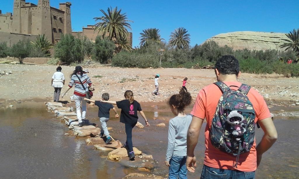 ir a marruecos con los niños