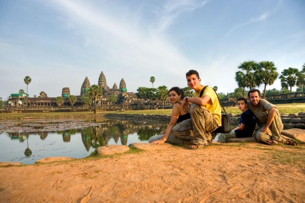 viaje camboya en familia