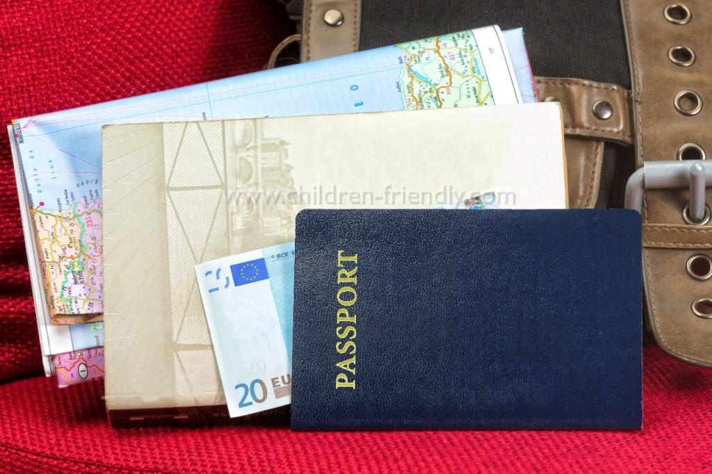viajar con niños documentación necesaria