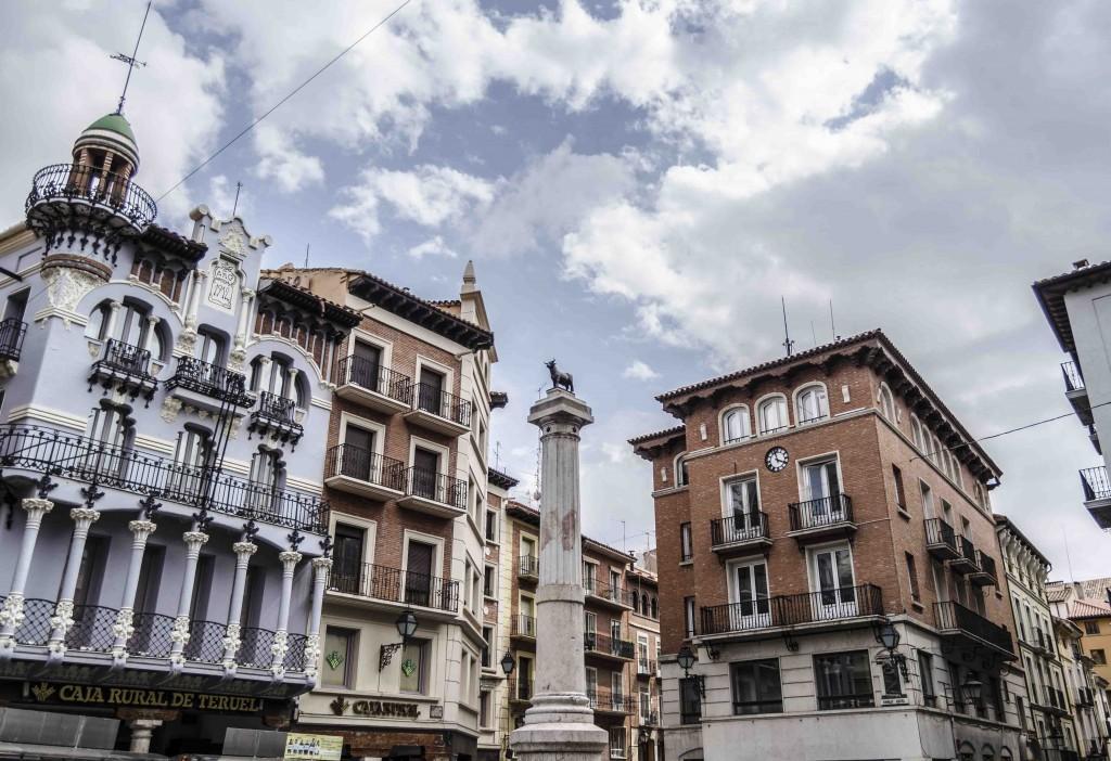 plaza-del-torico-hoteles-para-familias-en-teruel