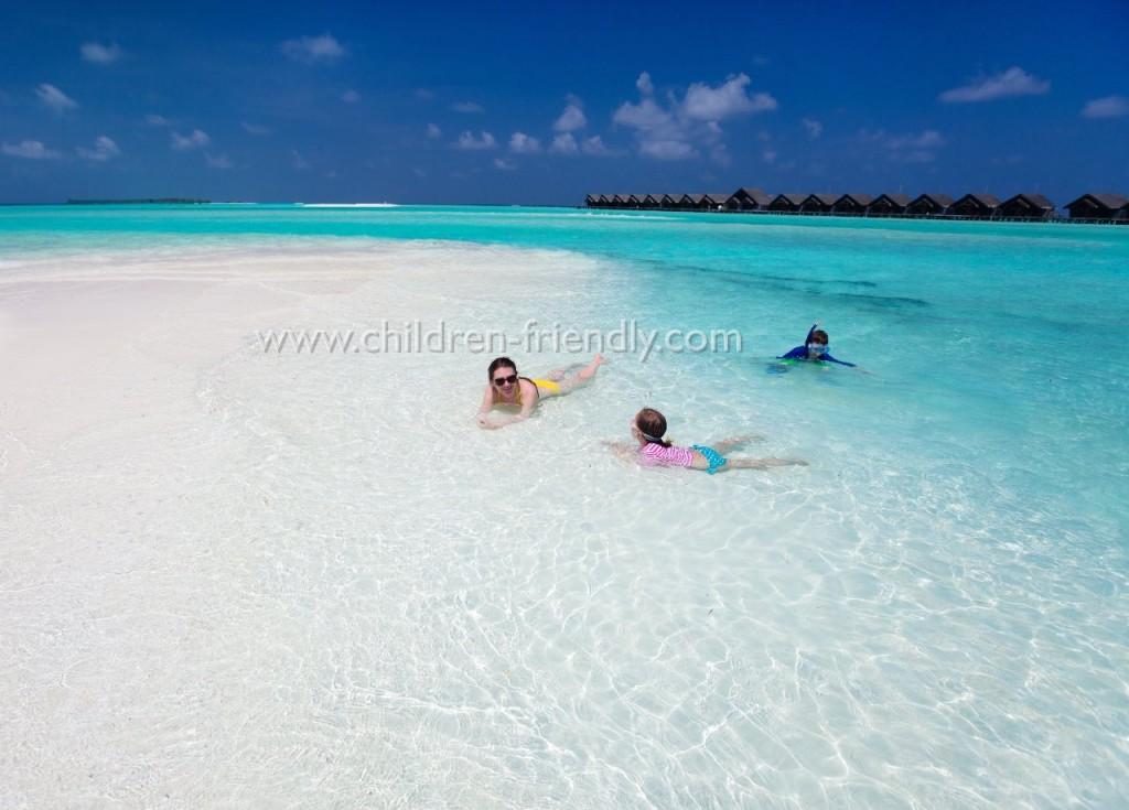 maldivas con niños