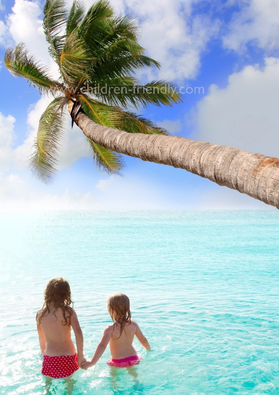 ofertas caribe niños gratis