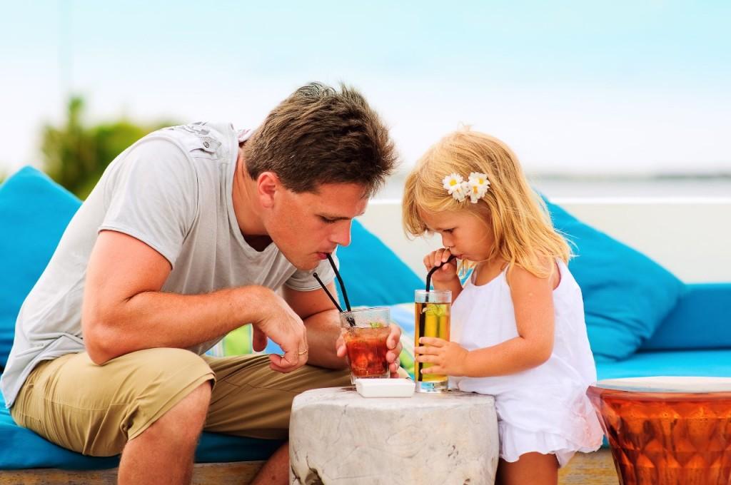 vacaciones con niños en bali