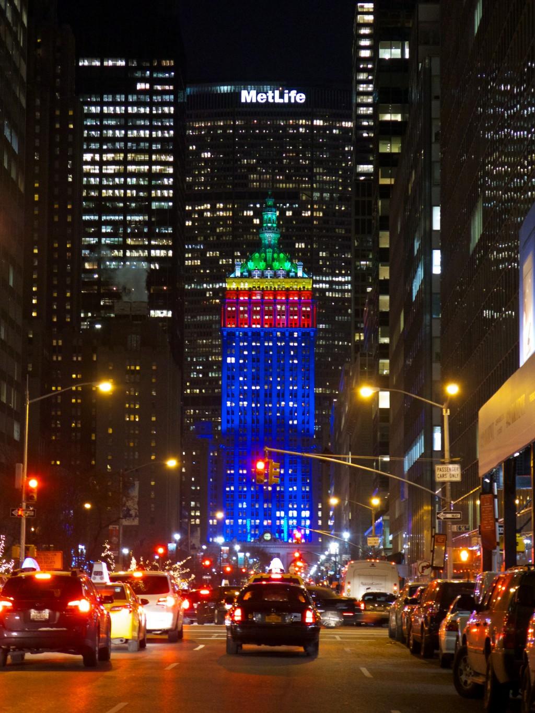 nueva york con niños navidad