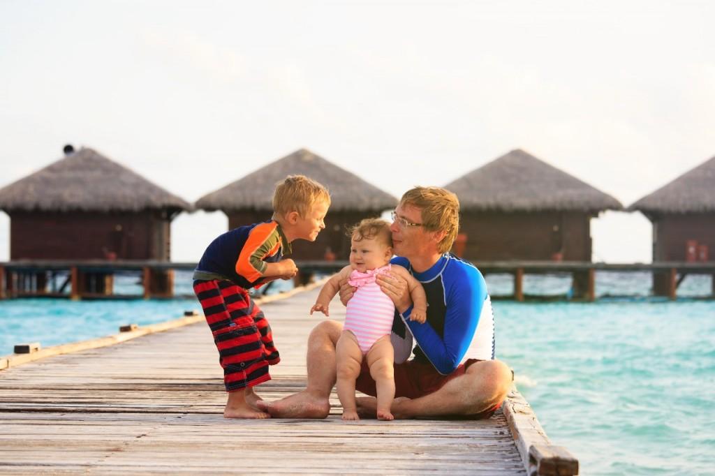 viajar maldivas con bebes