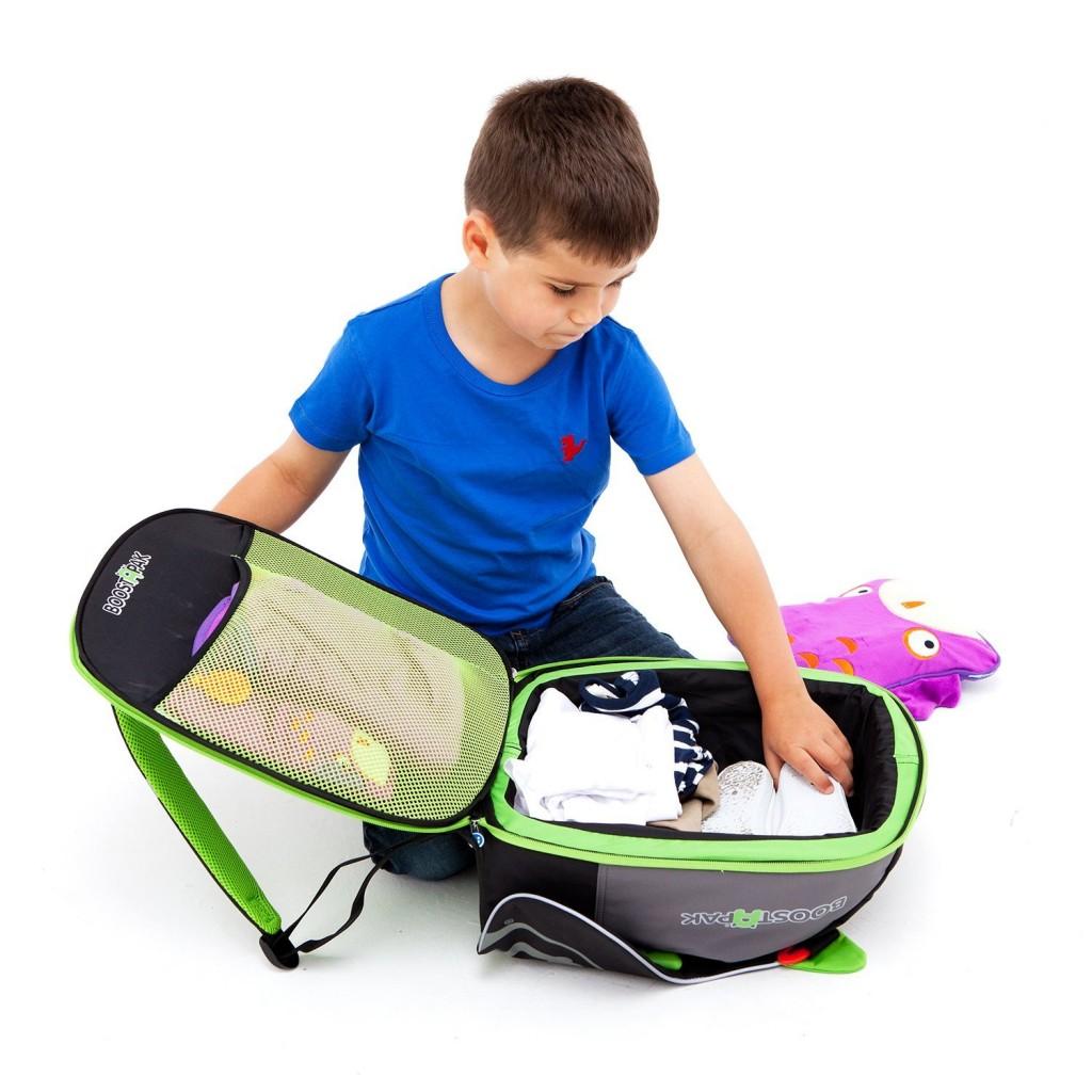 mochila con sillita para coche