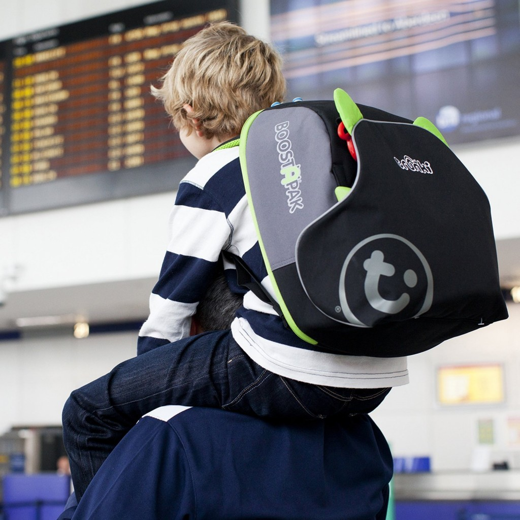 mochila con alzador portatil