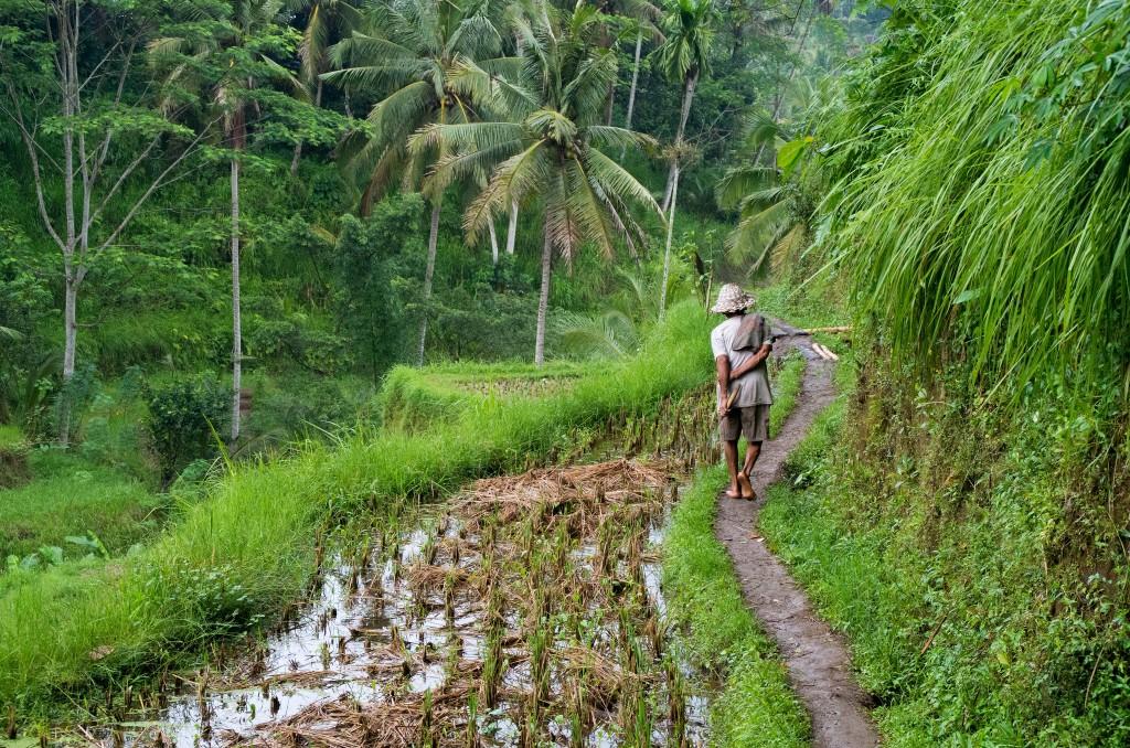 munduk con niños indonesia